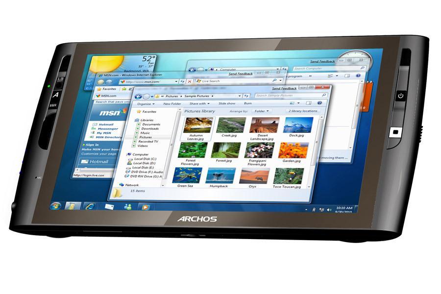 cash web article  tablette archos go